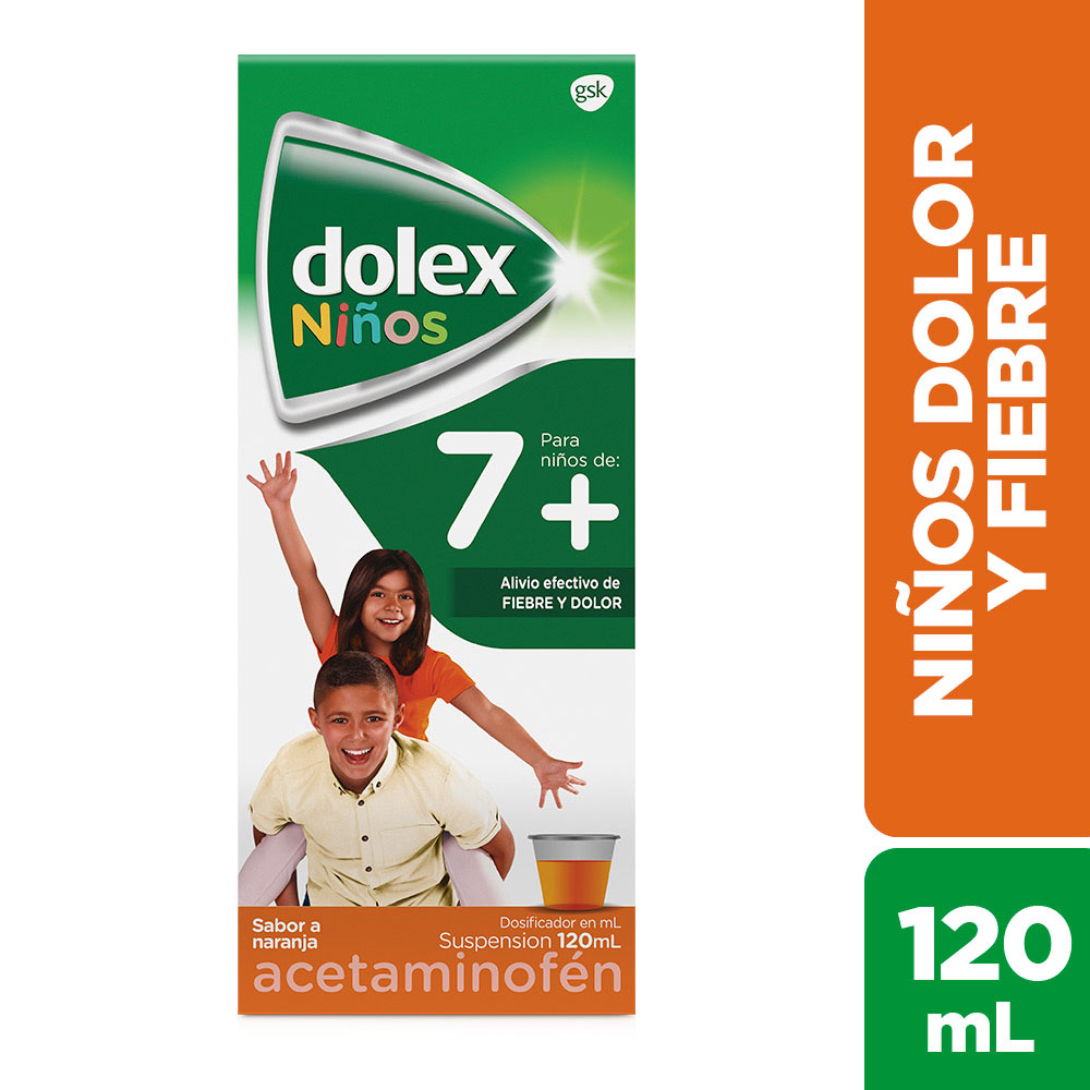 Dolex Niños Jarabe 7+ 120Ml
