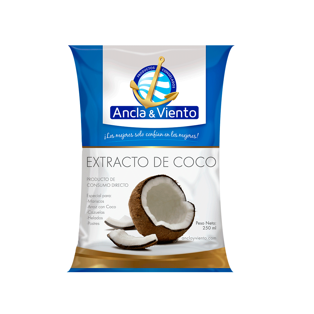 Extracto De Coco Ancla Y Viento 250 G