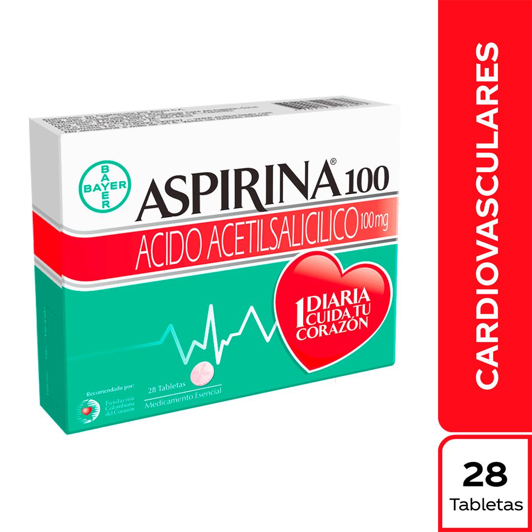 Aspirina Tabletas 100Mg X 28 Und