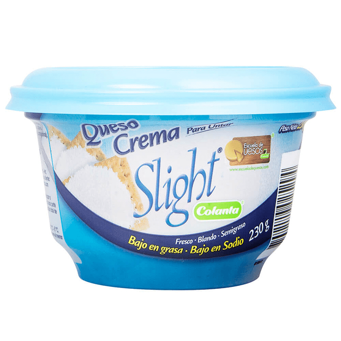 Queso Crema Colanta Slight 230 G
