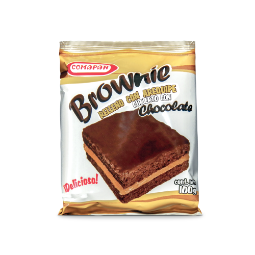 Brownie Comapan Arequipe 100G