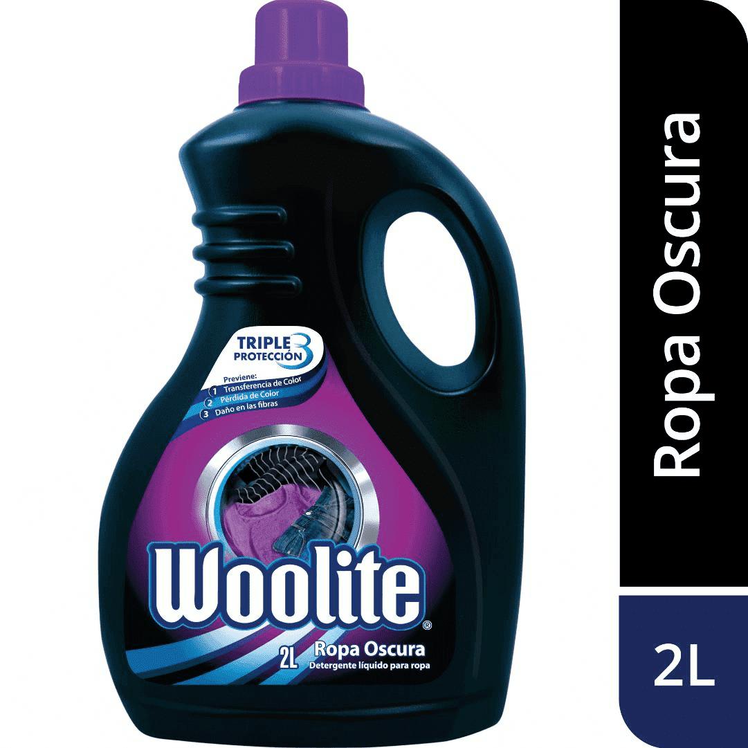 Detergente Líquido Woolite Ropa Oscura 2000Ml