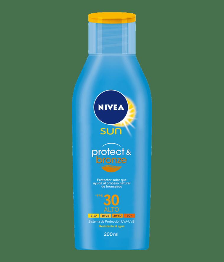 Protect & Bronce Nivea125/Fps30 Sun