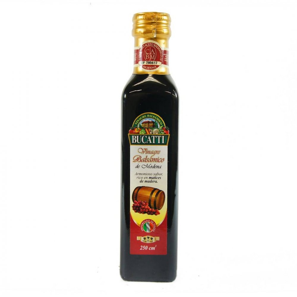 Vinagre Balsámico Bucatti 250 Cm3