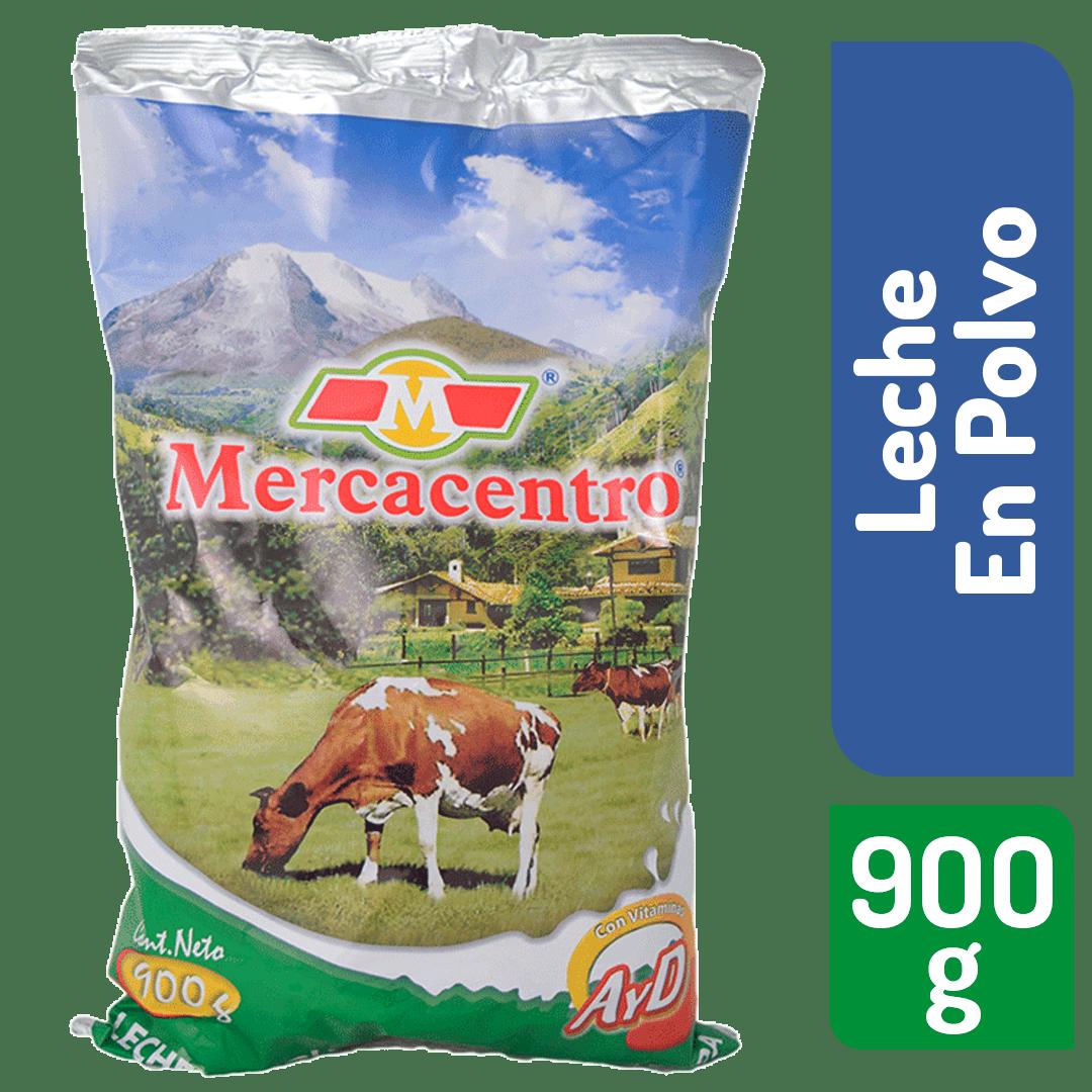 Leche Mercacentro Azucarada En Polvo 900 G
