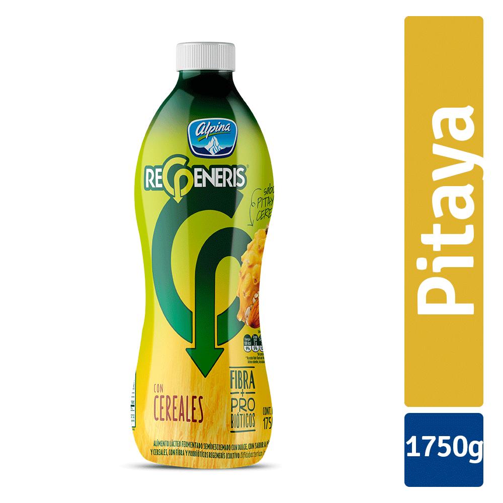 Alimento Lácteo Regeneris Cereales Pitaya Botella 1750G