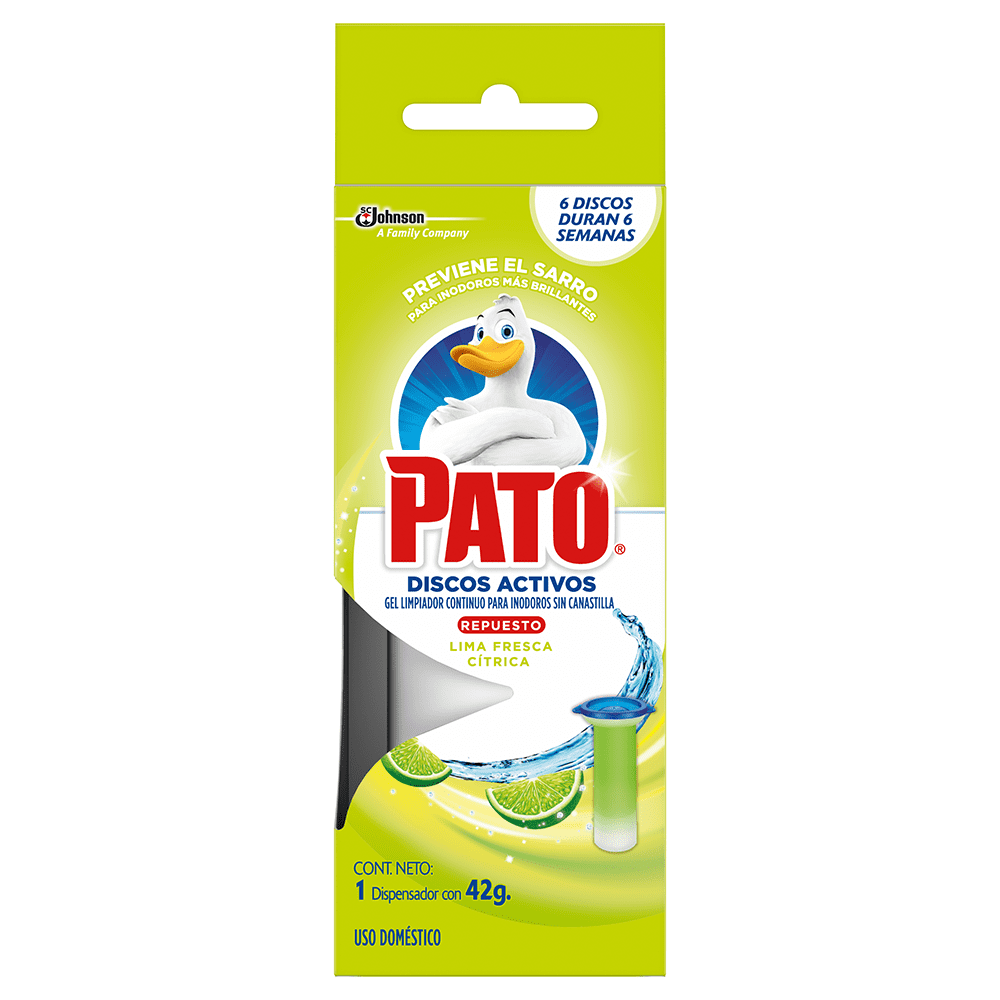 Pato Discos Activos Lima Fresca Citrica