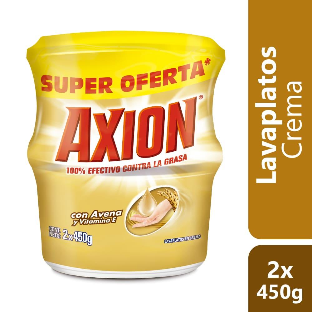Lavaplatos Axión Avena Crema Precio Especial 2X450 G