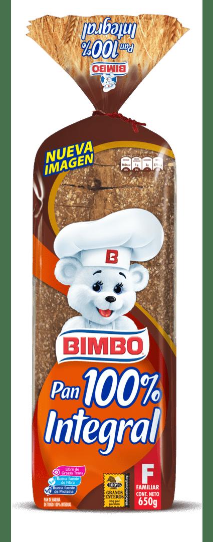 Pan Bimbo Integral 650G