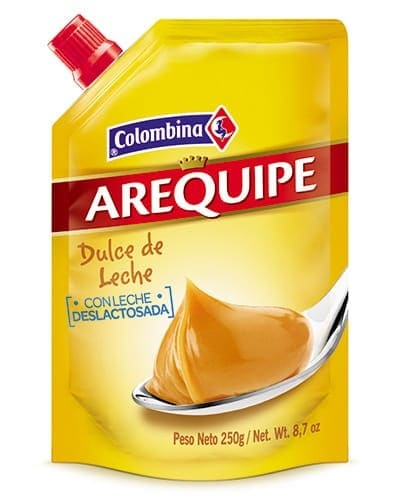 Arequipe Colombina Doypack 250 G