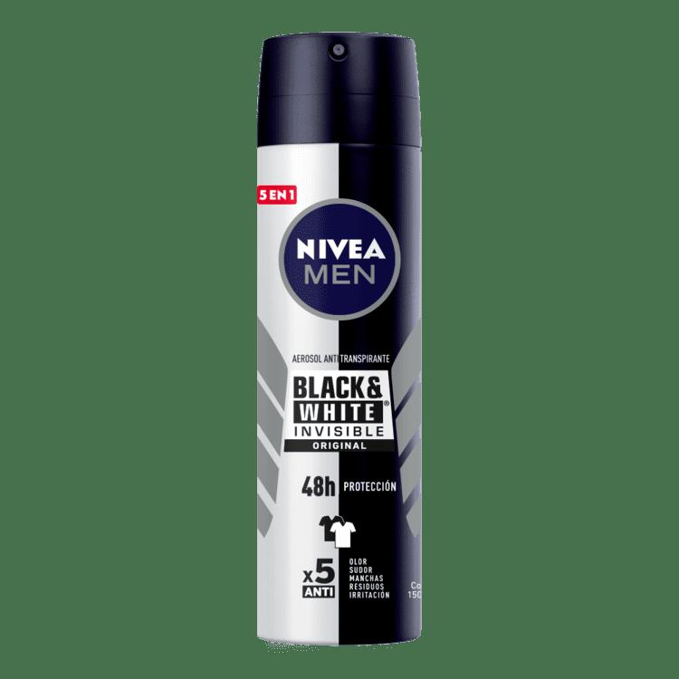 Desodorante Nivea Aerosol Men Black-White 150 Ml