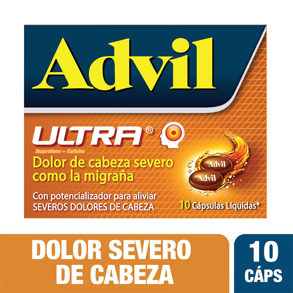Advil Ultra 10 Cápsulas