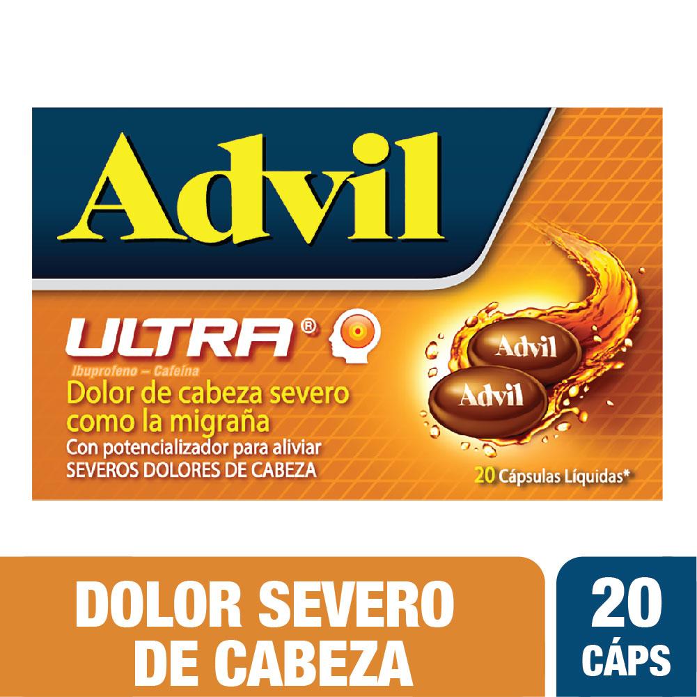 Advil Ultra 20 Cápsulas