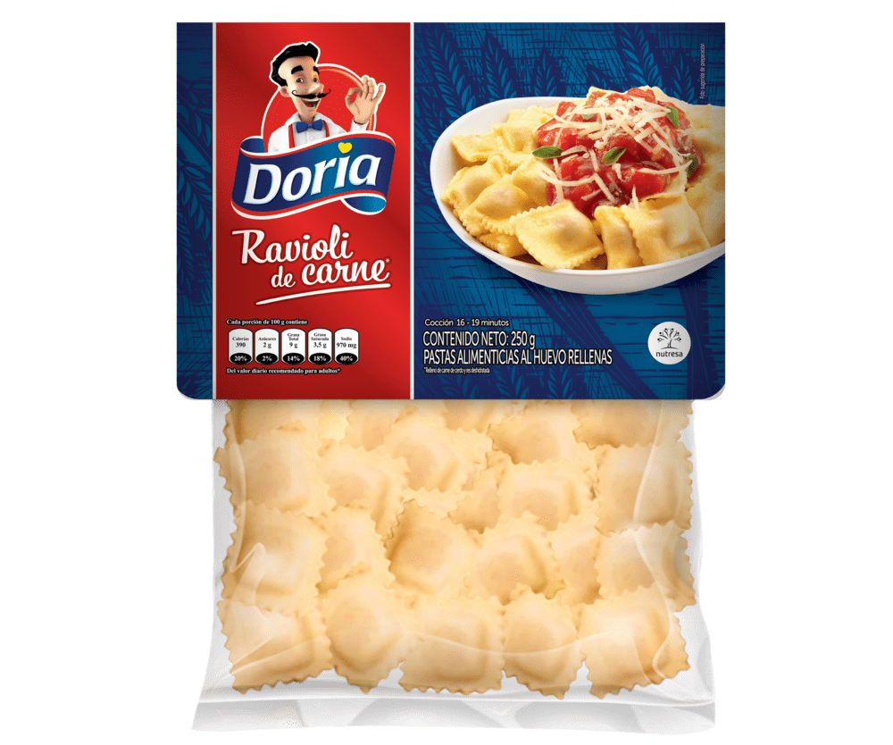 Ravioli Doria Carne 250 G