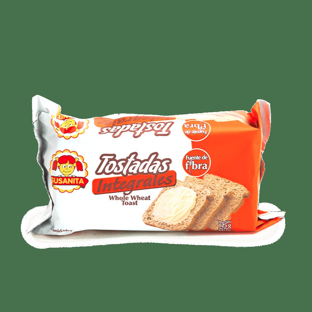 Tostada Susanita Tipo Desayuno Integral 125 G