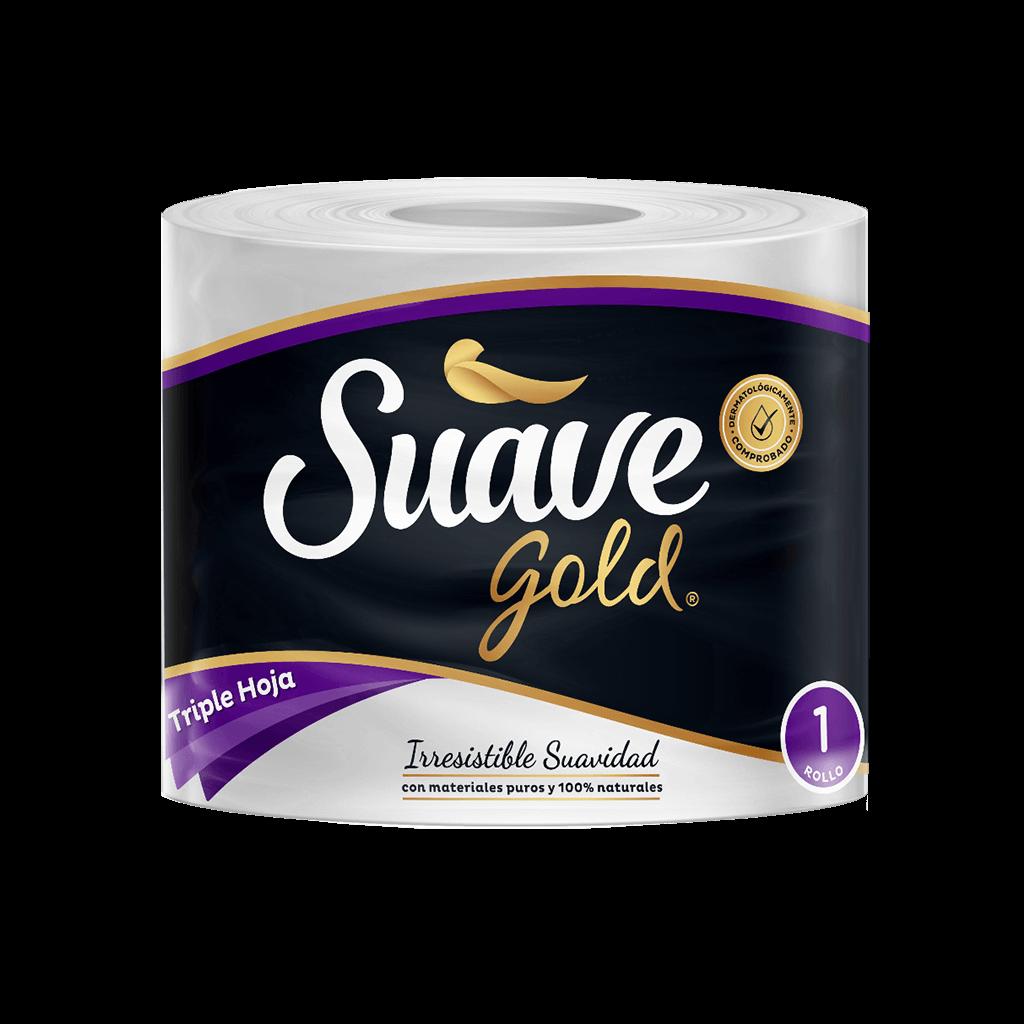 Papel HigiNico Suave Gold Triple Hoja Und
