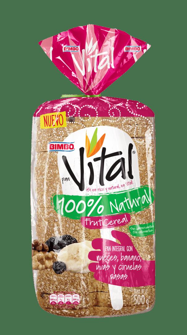 Pan Bimbo Vital Integral Fruticereal 500 G