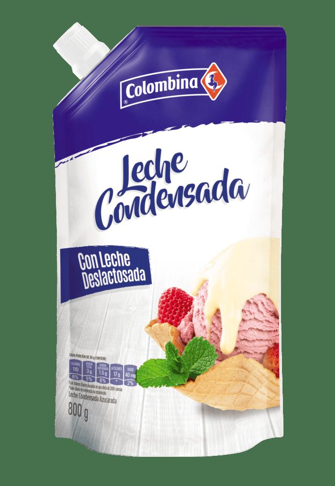 Leche Condensada Colombina Doypack 800 G