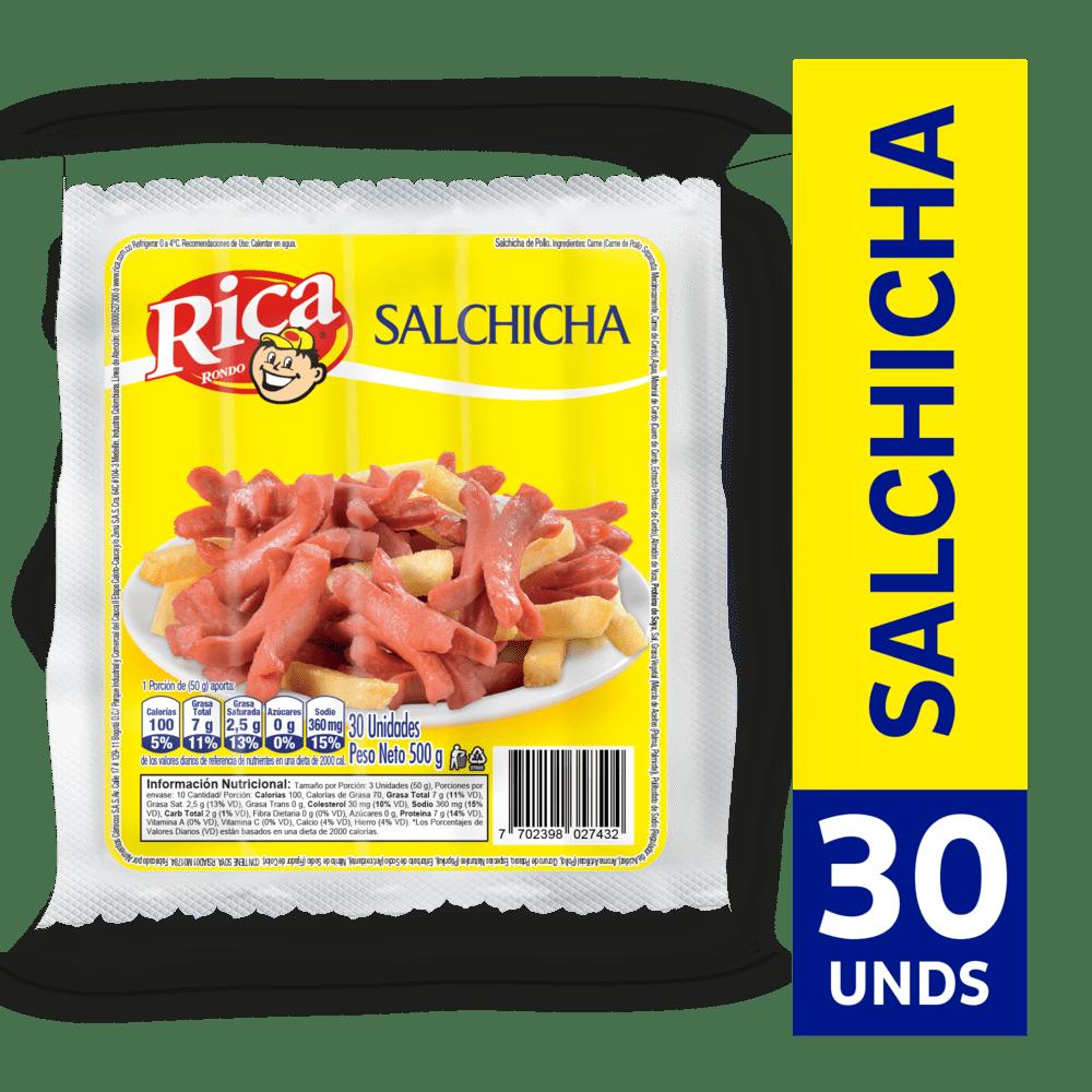 Salchicha Rica 500G