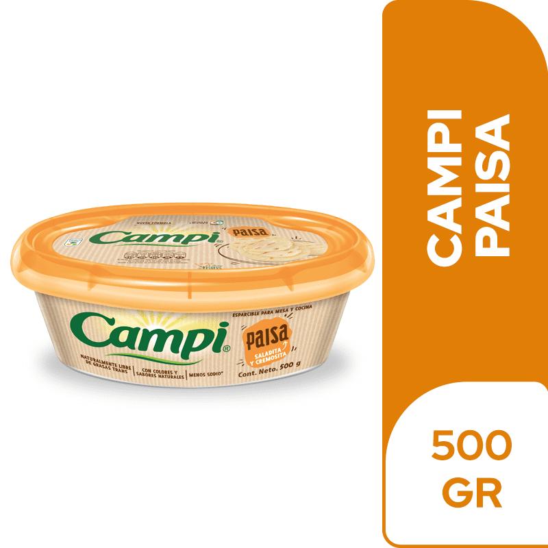Margarina Campi Paisa 500 G