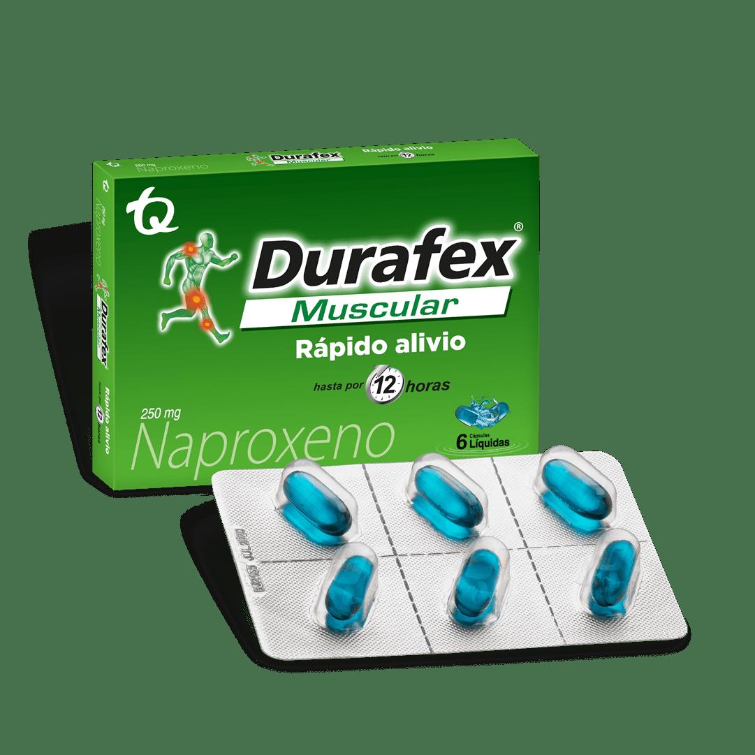 Durafex 250 Mg Cápsulas 6 Und