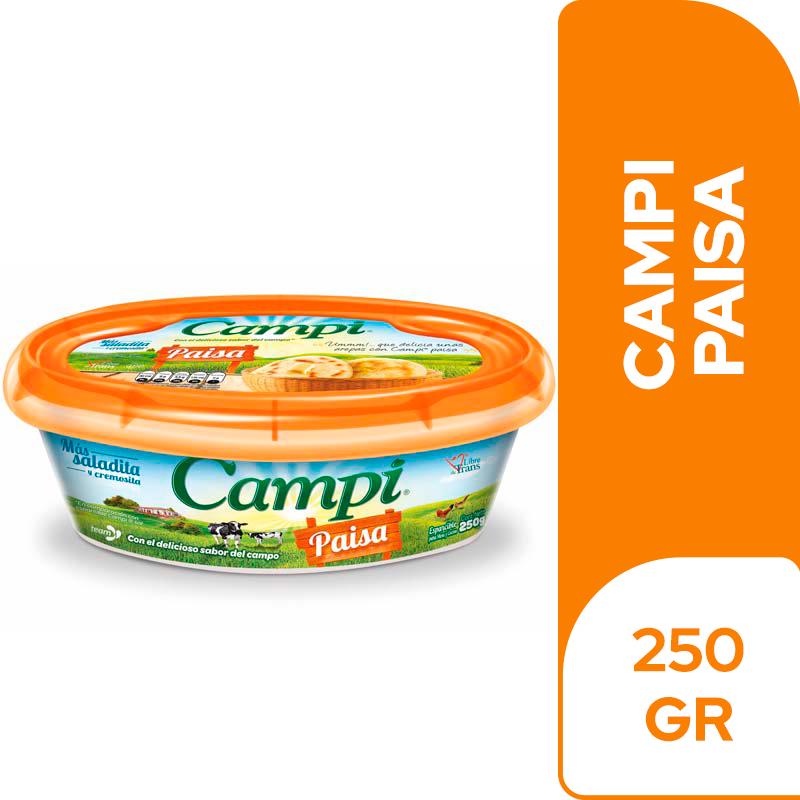 Margarina Campi Paisa 250 G