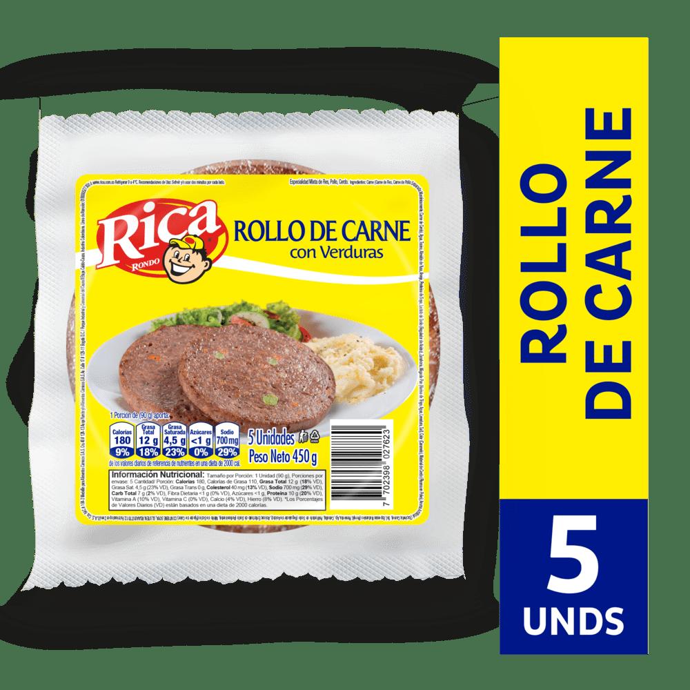 Rollo De Carne Rica 450 G