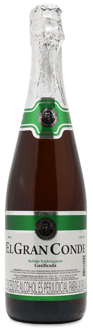 Bebida Espumosa Gran Conde 1.0Ø Blanca 750 Ml