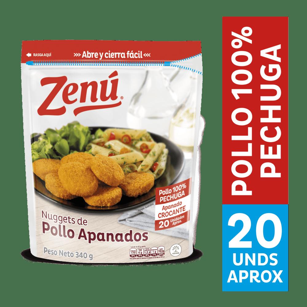 Nuggets Zenú Pollo Apanado 340 G