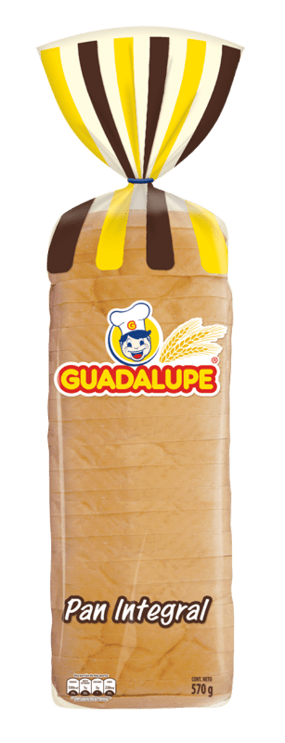 Pan Guadalupe Extralargo Integral 570 G