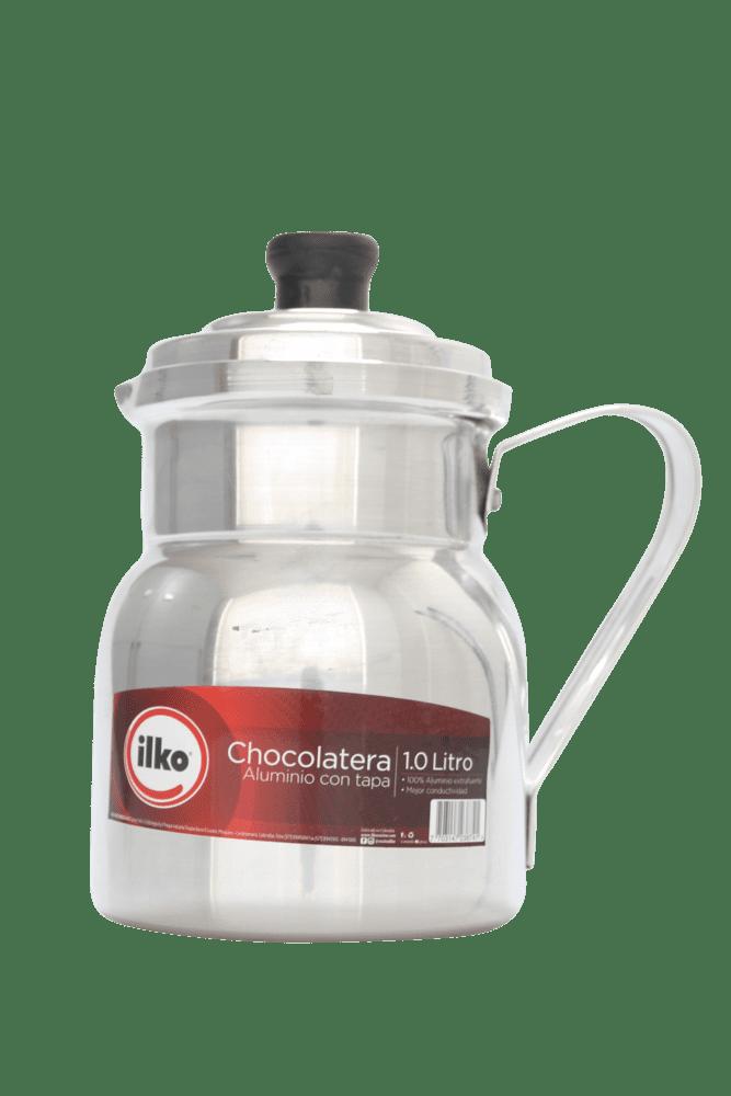 Chocolatera Ilko 1 Litros Con Tapa 1 Und