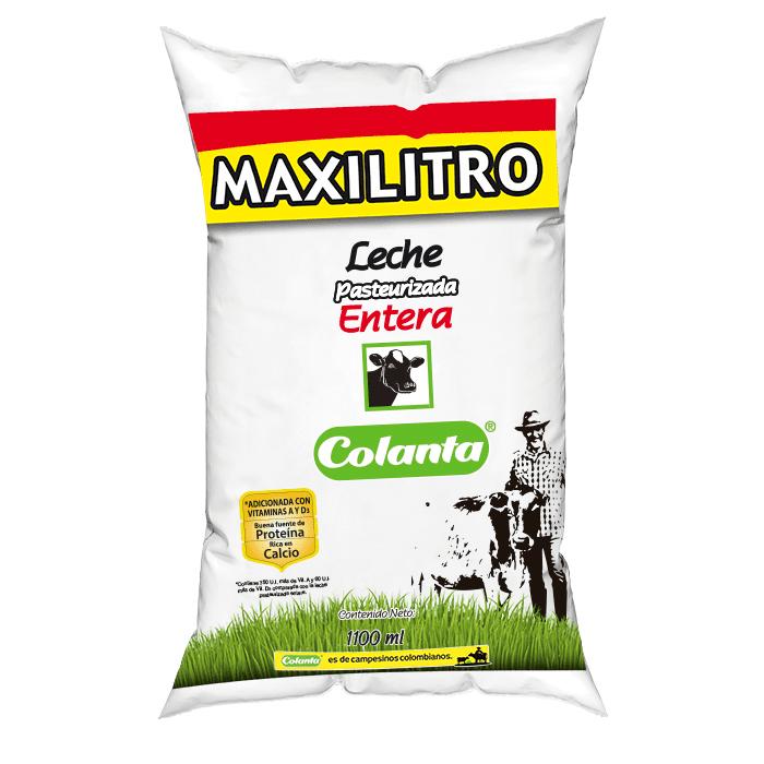 Leche Colanta  Pasteurizada 1100 Ml