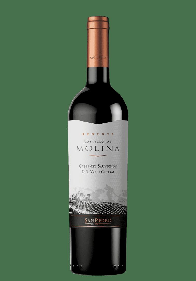 Vino Castillo De Molina 750 Ml Cabernet Sauvignon