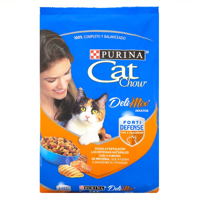 Cat Chow Delimix Adultos  1.5 Kg