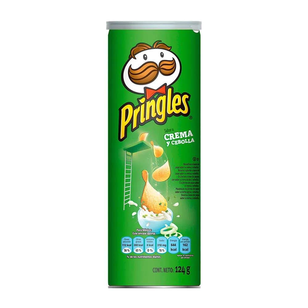 Papas Pringles Crema Cebolla 124 Und