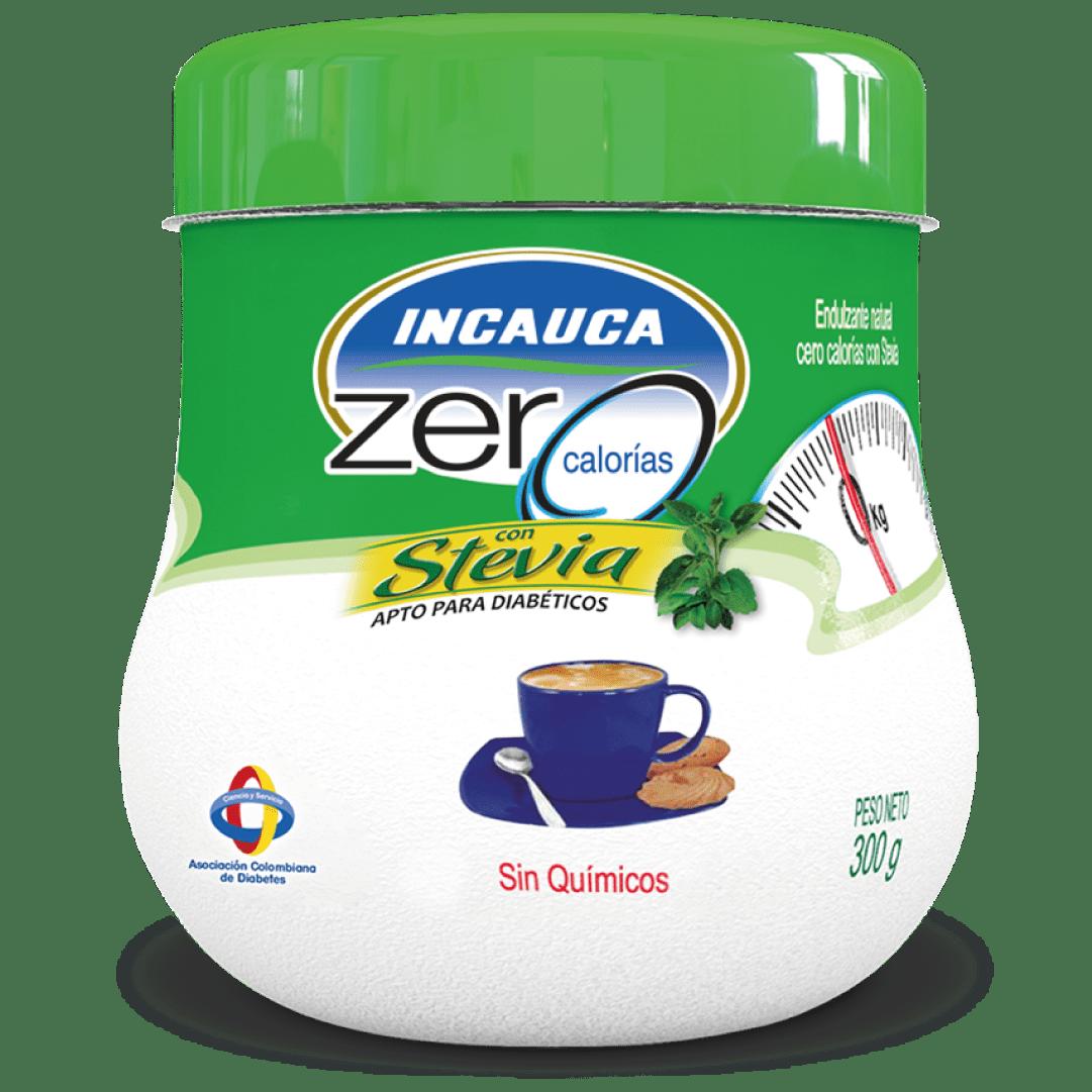 Endulzante Incauca Zero Stevia Azucarera 300 G