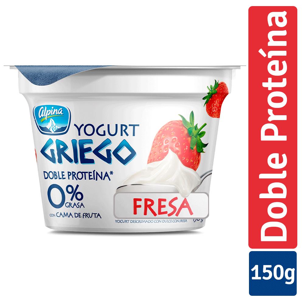 Yogurt Griego Fresa Vaso 150G