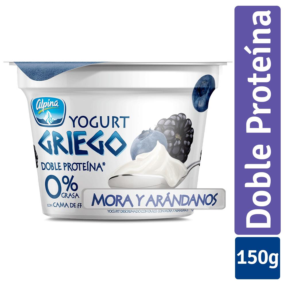 Yogurt Griego Mora Arándanos Vaso 150G