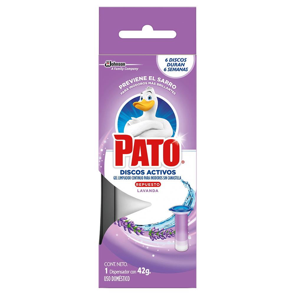 Pato Discos Activos Lavanda Repuesto