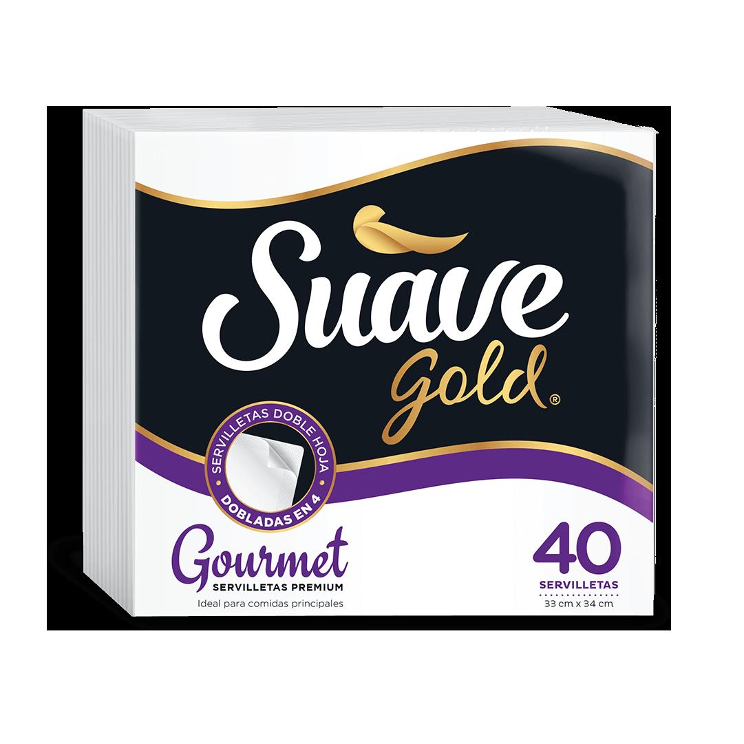 Servilleta Suave Gold Diaria 100 Und