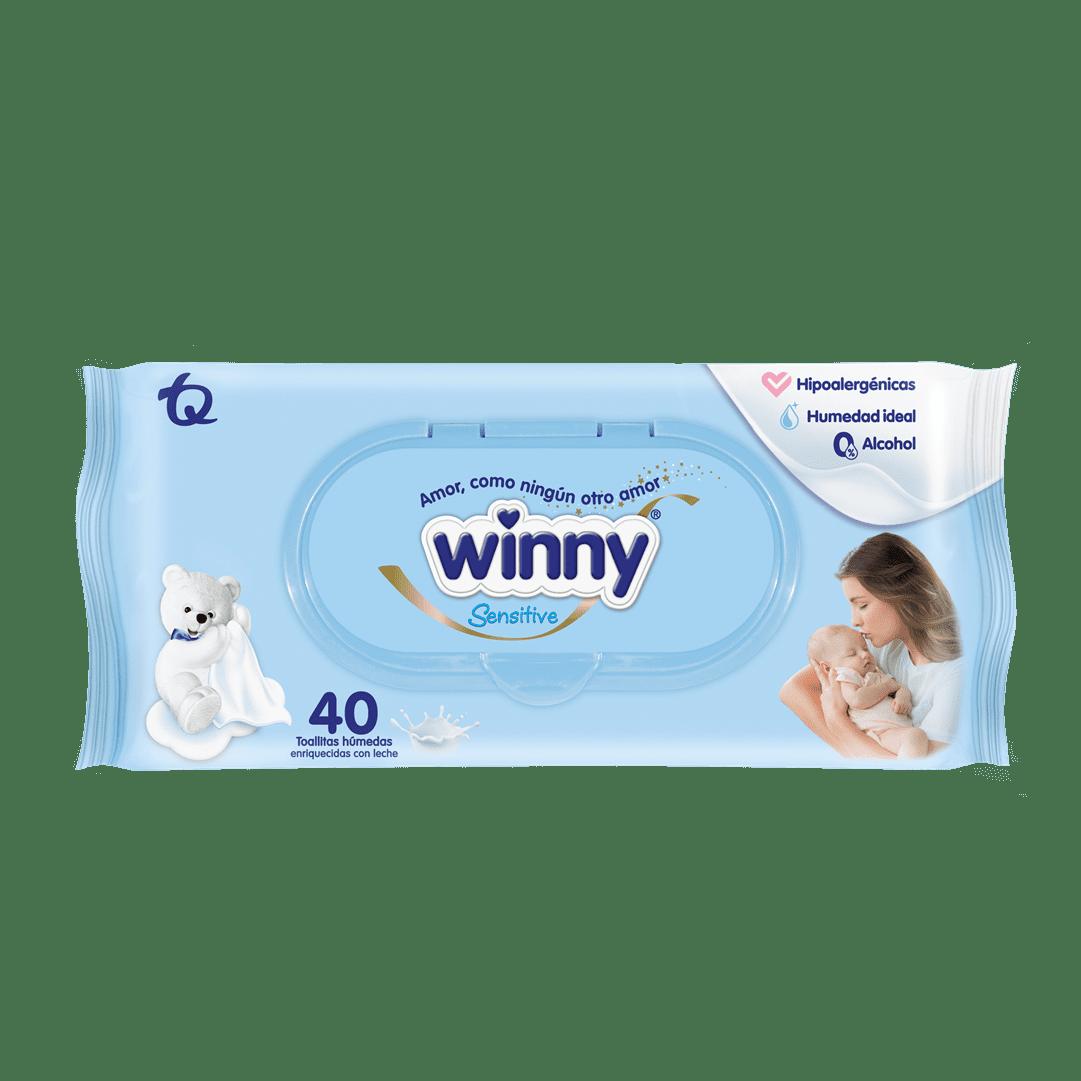 Toallitas Winny ReciN Nacido 40 Und