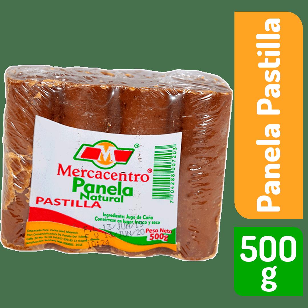 Panela Mercacentro X 8 Pastilla 500 G