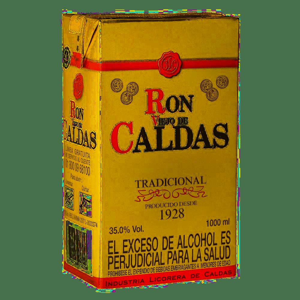 Ron Viejo De Caldas Tetra 1000 Ml