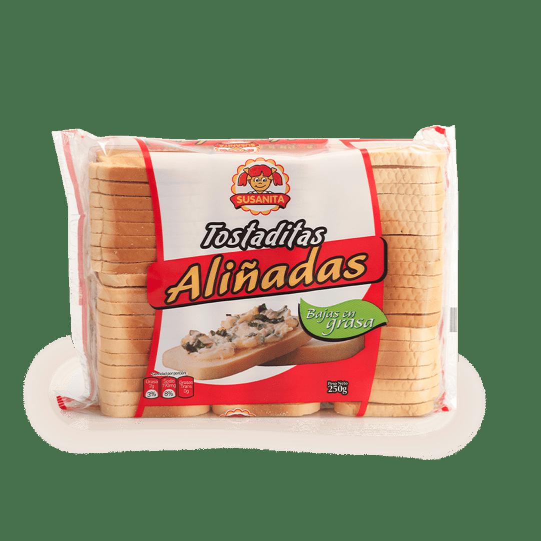Tostaditas Susanita Aliñadas 250 G