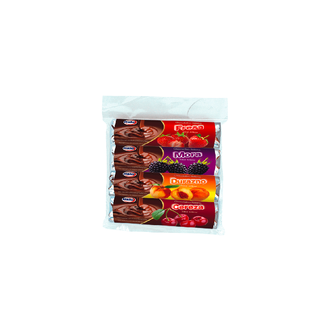 Chocolate Italo Rellena Surtida 4 Und