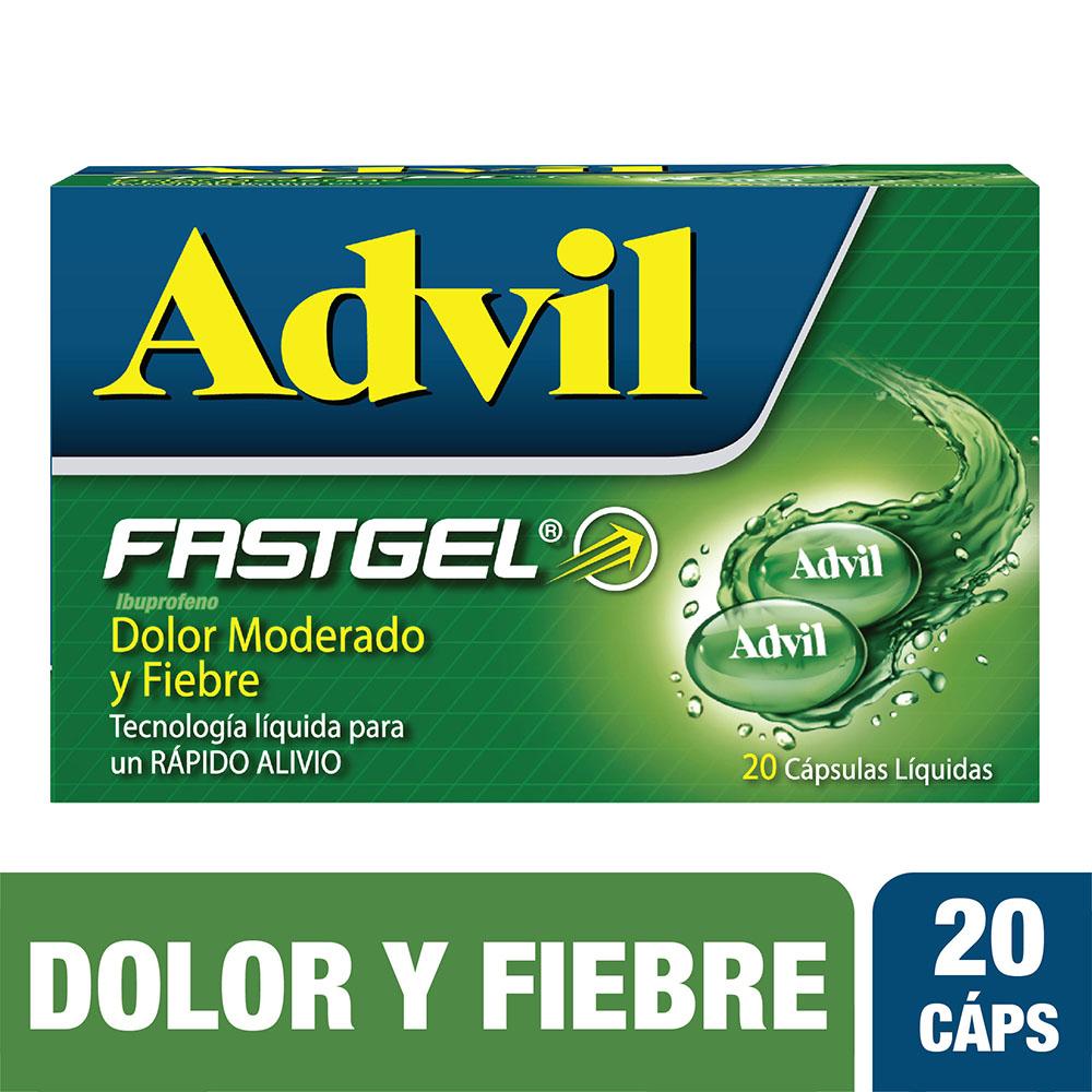 Advil Fast Gel 20 Cápsulas