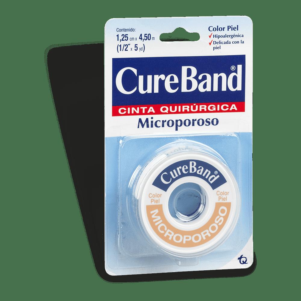 Microporoso Cureband *1/2*5Yardas Piel 5 M