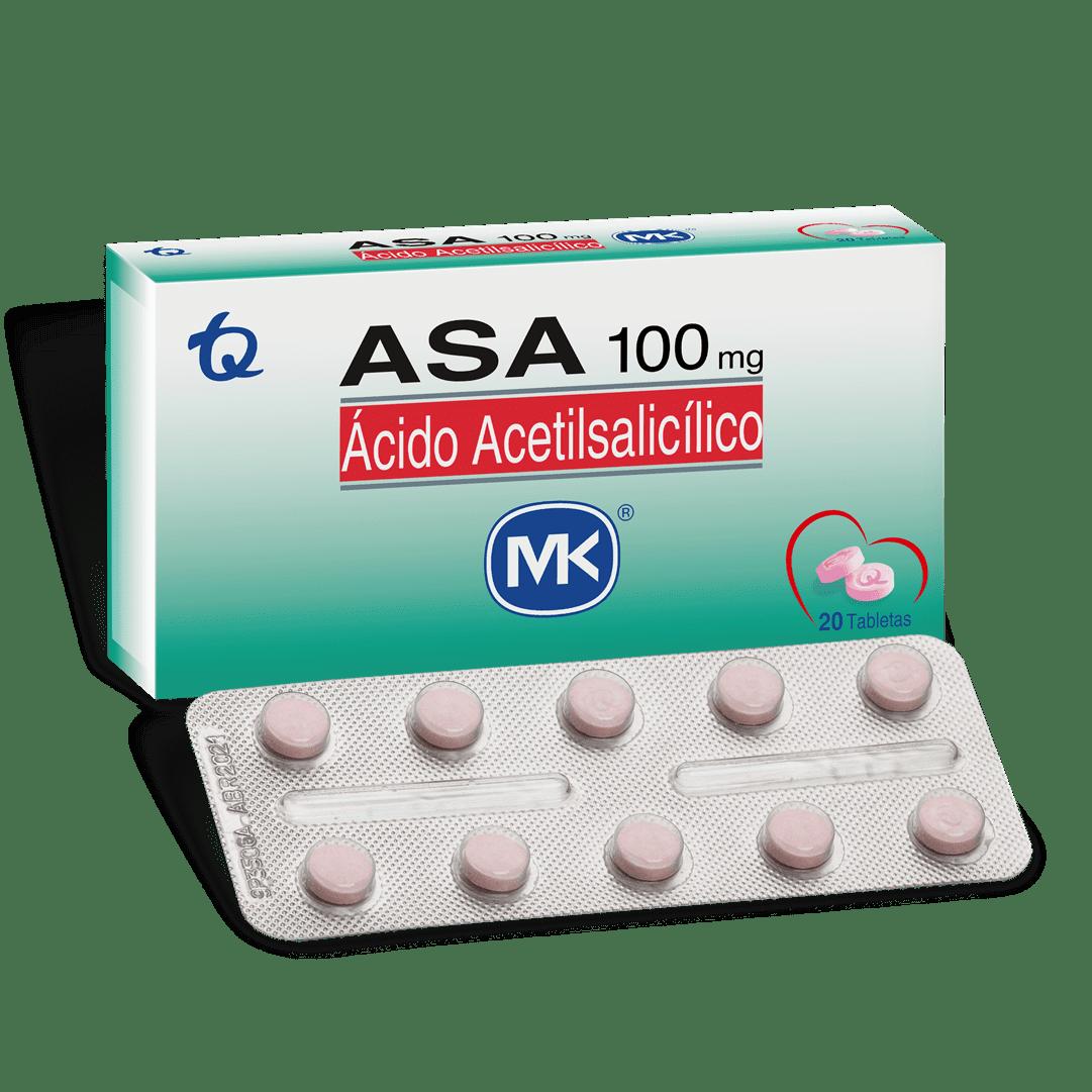 Asa Mk 100 Mg 20 Und