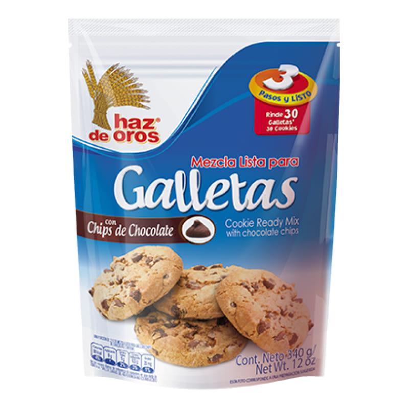 Mezcla Para Galletas Haz De Oros 340 G