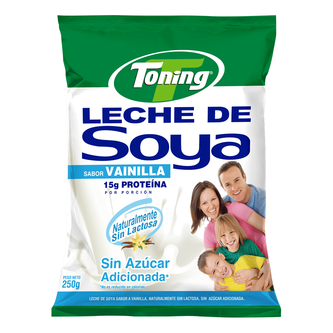 Leche Soya Toning Vainilla 250 G
